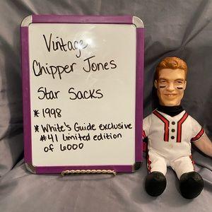 Vintage Chipper Jones Star Sacks